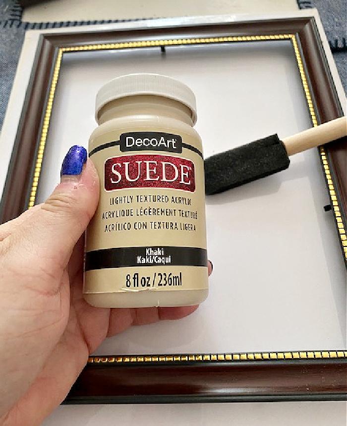 decoart suede paint