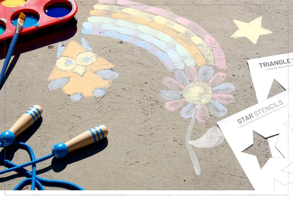 diy chalk paint pastel image
