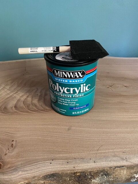 polycrylic stain