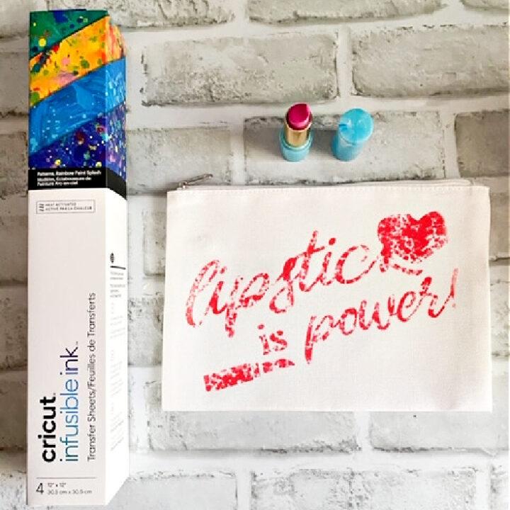 infusible ink cricut makeup bag