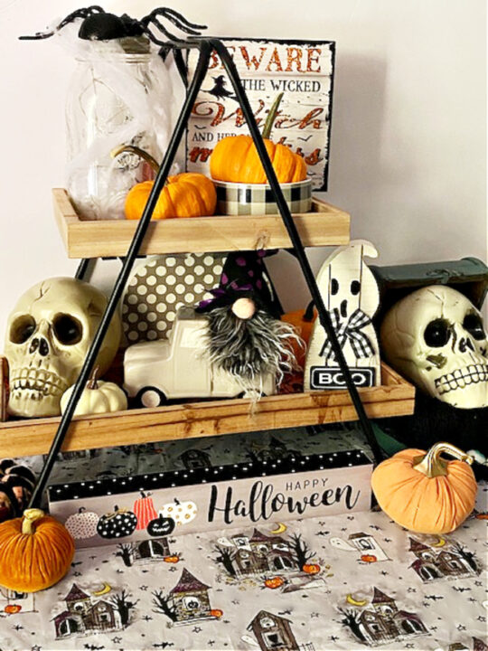 halloween tiered tray ideas