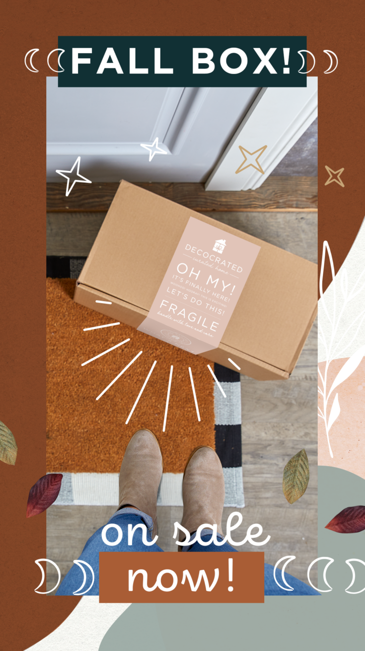 fall decocrated subscription box