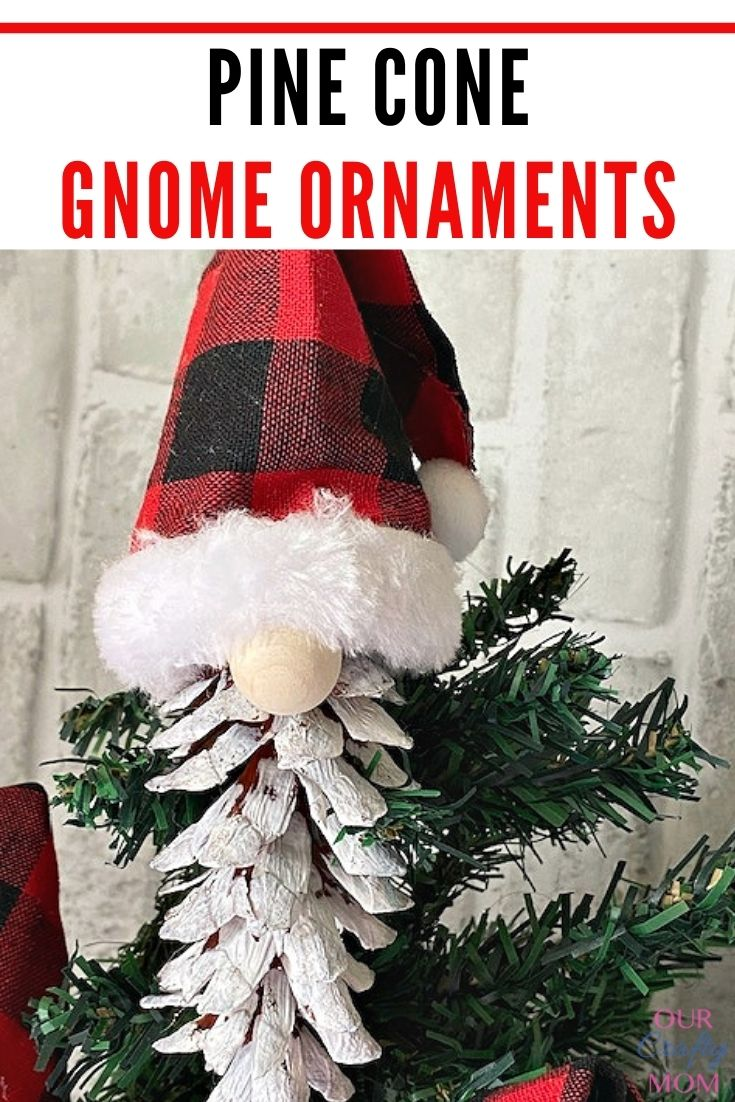 Christmas gnome ornaments