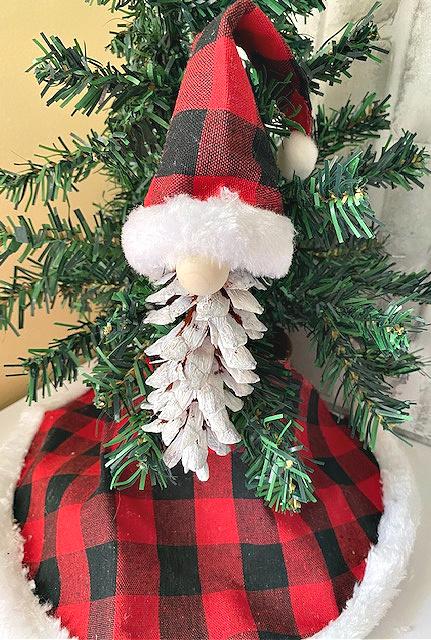 pine cone gnome ornaments