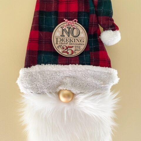 Christmas gnome diy