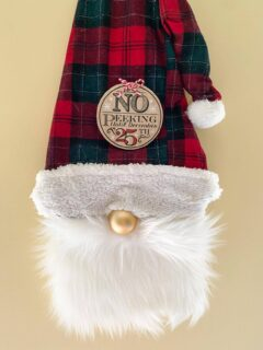 Christmas Gnome Door Hanger
