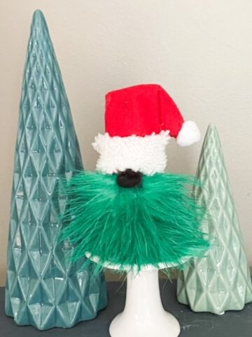 diy grinch gnome