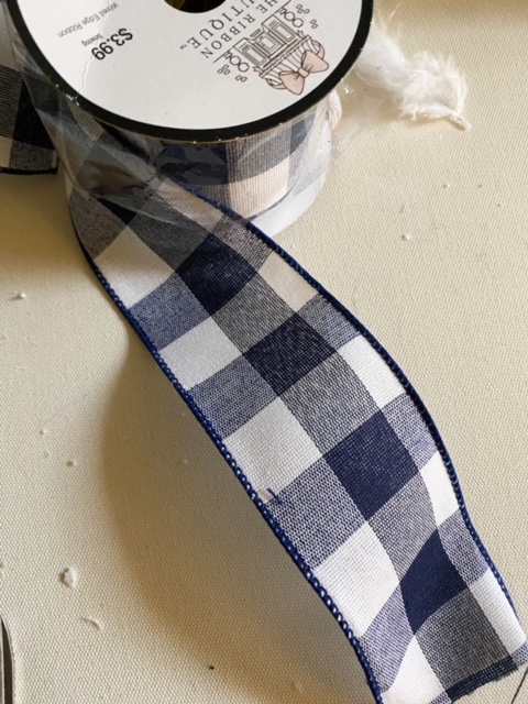 buffalo check ribbon