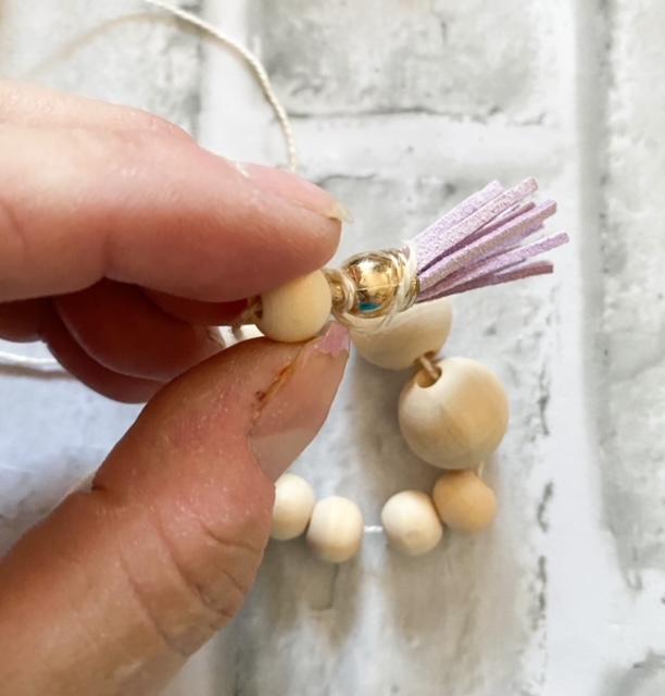 beads and tassel