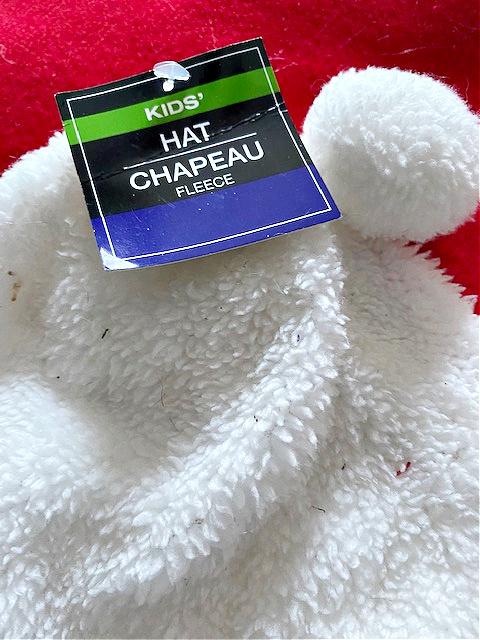 kids white hat