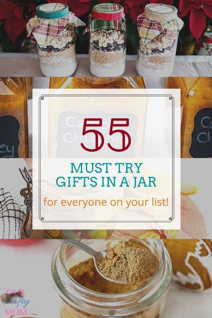 55 diy gifts in a jar