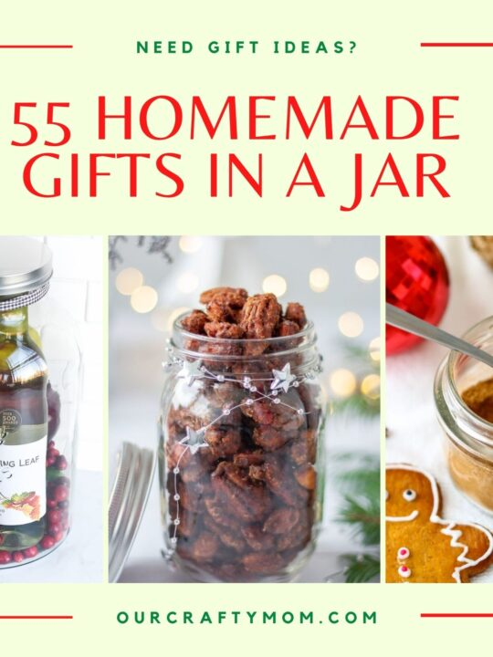 55 homemade diy gifts in a jar