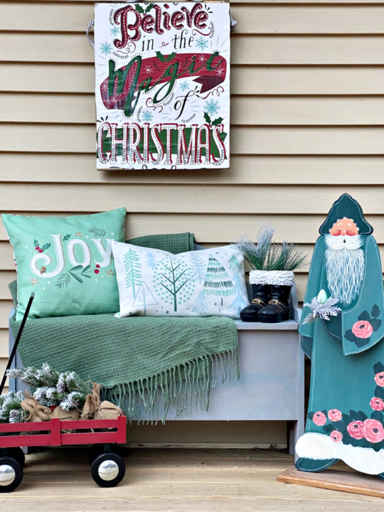 Christmas Front Porch Feature Image Our Crafty Mom