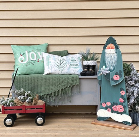 christmas porch wood pallet sign