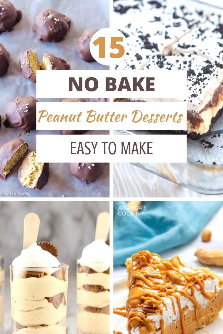 amazing no bake peanut butter desserts 15
