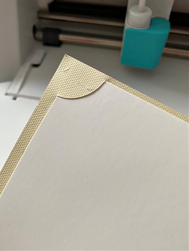 card in card mat