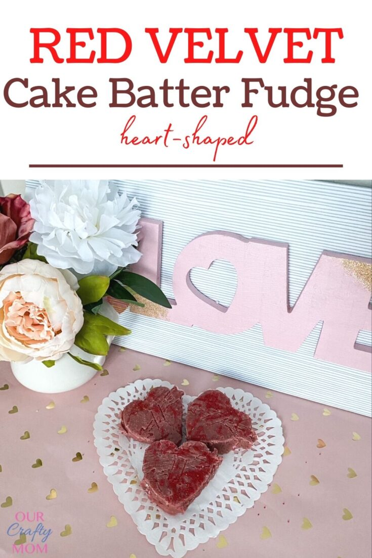 How To Make Heart-Shaped Red Velvet Cake Batter Fudge