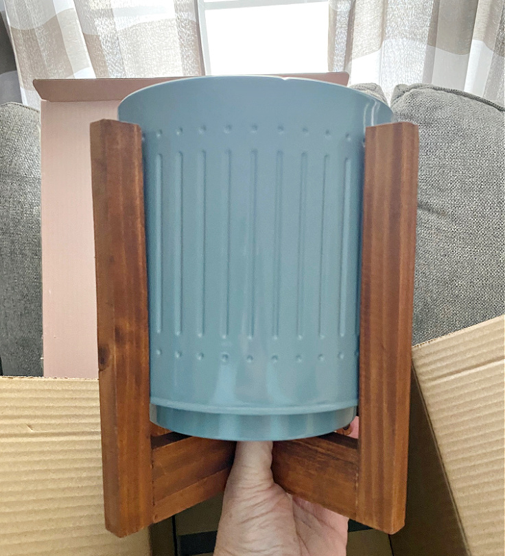 decocrated planter spring box