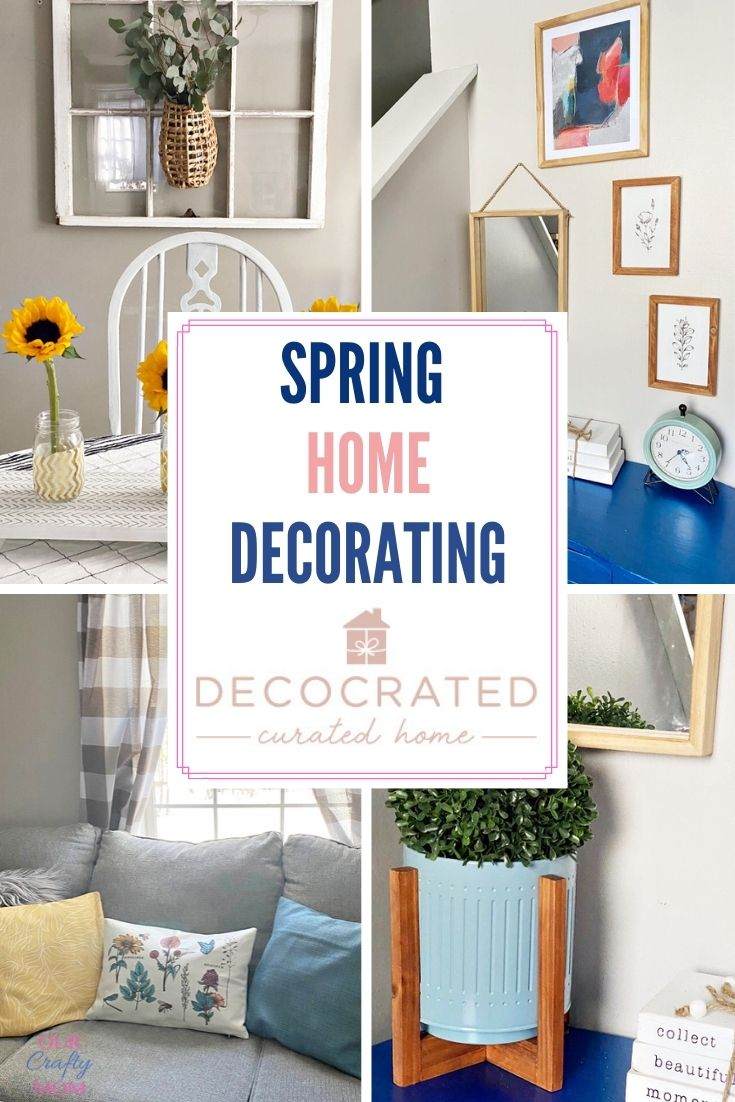 decocrated curated home spring decor
