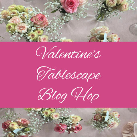 valentine's day tablescape feature image