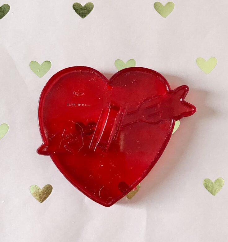vintage heart cookie cutter