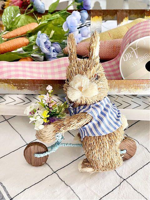 straw bunny