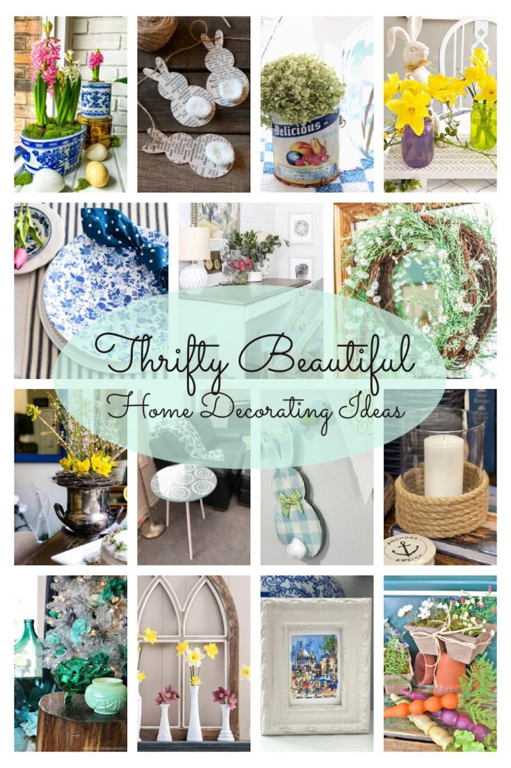 thrifty style team collage