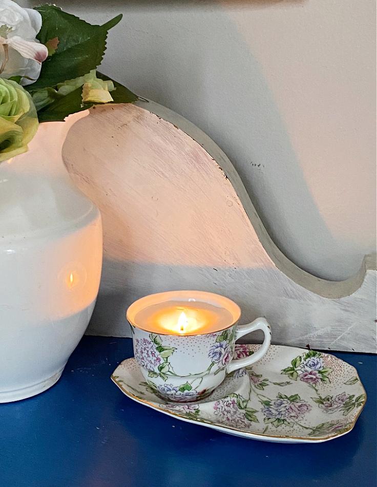 Soy Teacup Candles DIY - Easy Beginner Tutorial