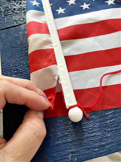 cutting flag