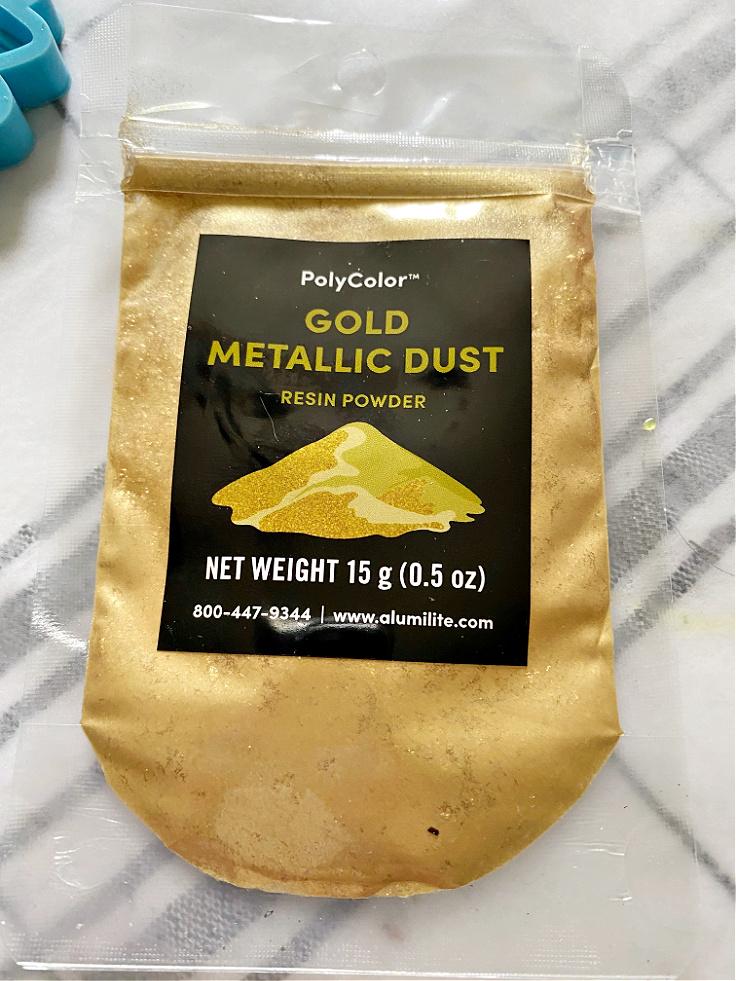 gold metallic dust