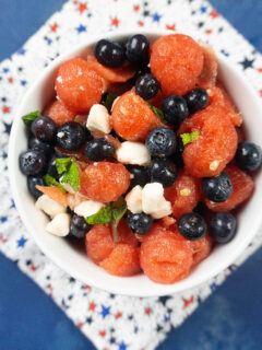 Make A Tasty Patriotic Red, White, and Blue Fruit Salad feature image