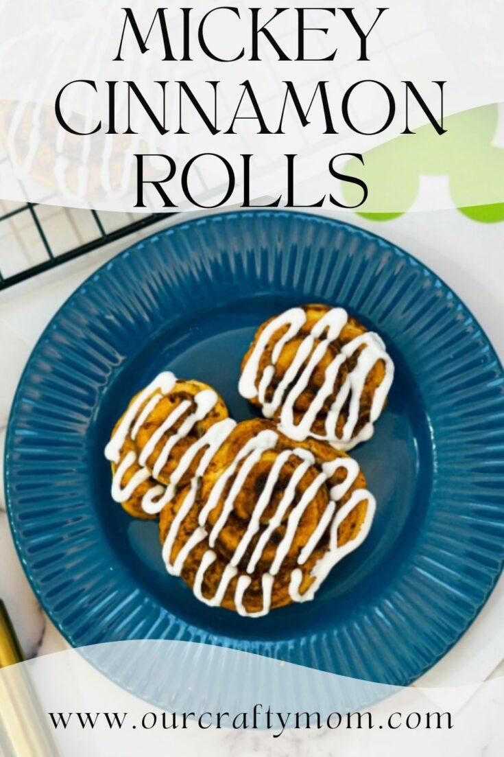 mickey cinnamon rolls