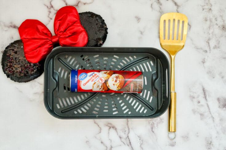 air fryer mickey mouse cinnamon rolls ingredients