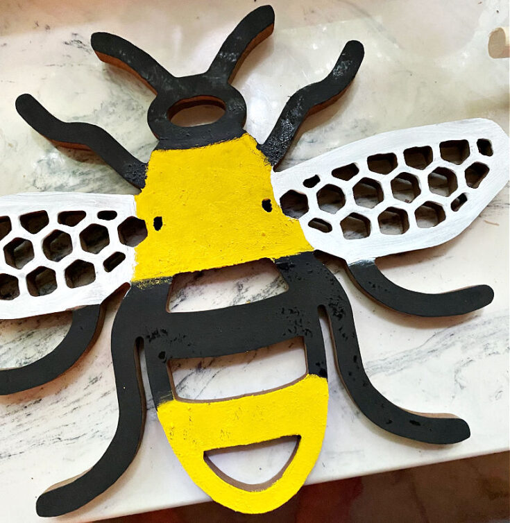 finished bumble bee