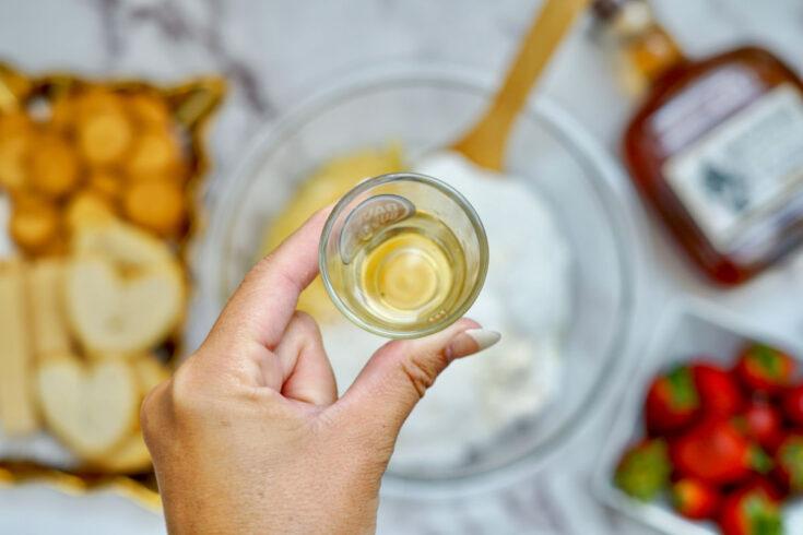 pina colada dip with rum