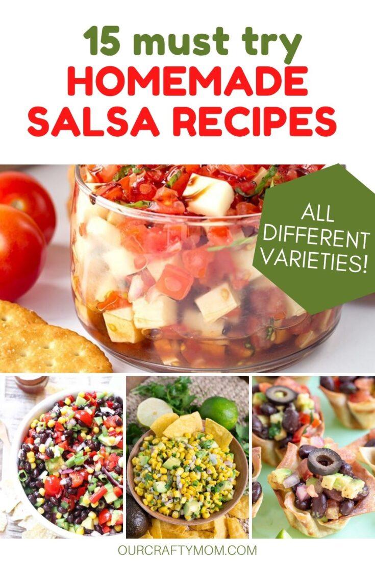 15 salsa recipes
