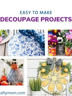 decoupage crafts feature image