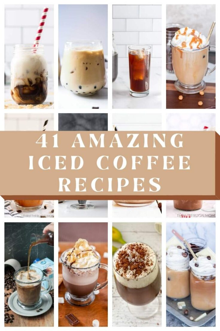 homemade iced coffee recipes