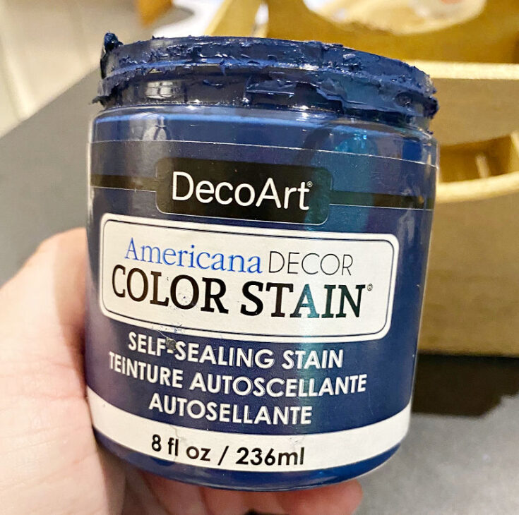 DecoArt color stain in navy