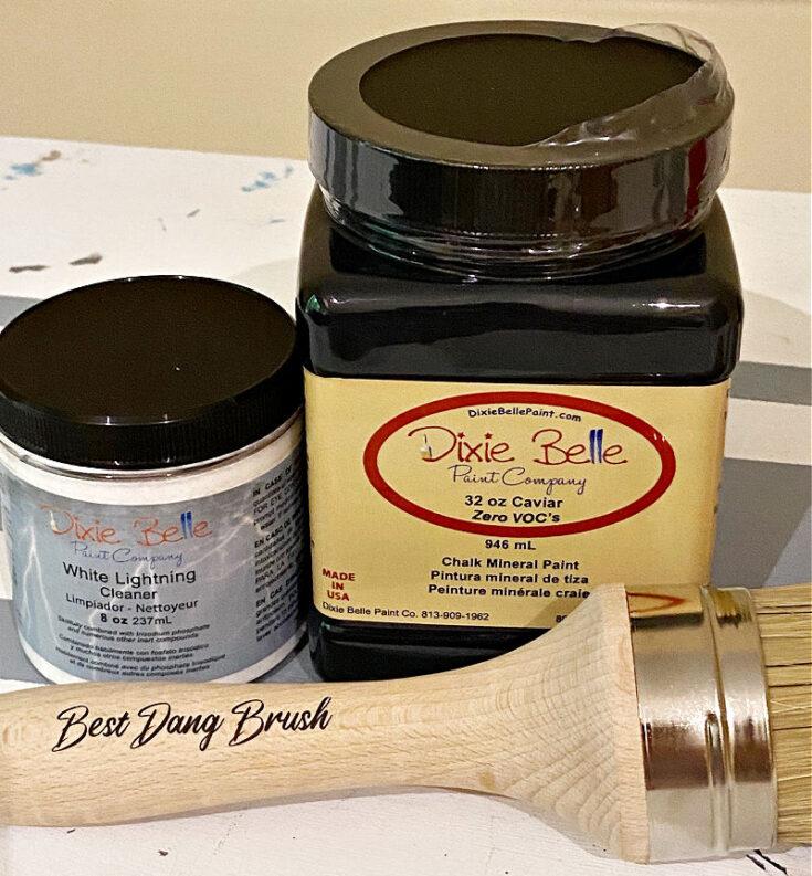 dixie belle paint in caviar