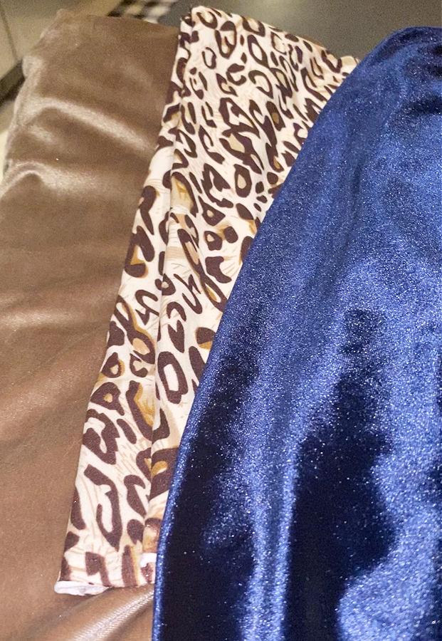 velvet and leopard for diy pumpkins