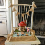 fairy garden chair planter